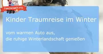 Kinder Traumreise Winter