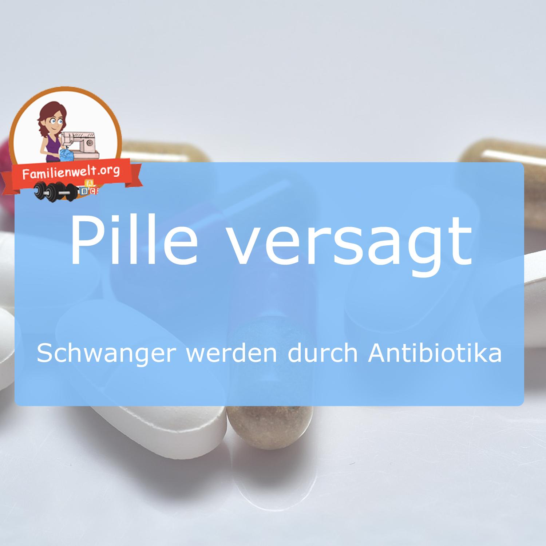 antibiotika eisprung