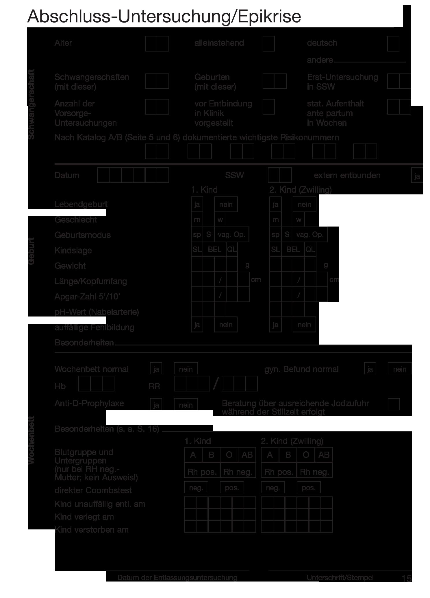 Mutterpass Seite 15