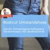 umstandshose bootcut