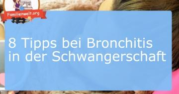 bronchitis schwangerschaft