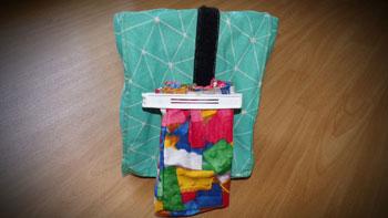 großer und kleiner lunchbag nähen